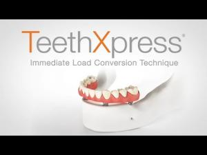 Embedded thumbnail for TeethXpress: Immediate Load Conversion Technique