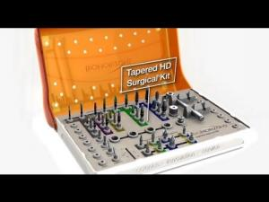 Embedded thumbnail for Tapered HD Surgical Kit animation